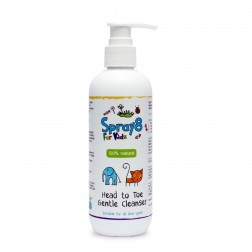 Spray8 For Kids®: Head to Toe Gentle Cleanser 250ml