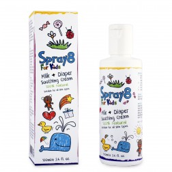 Spray8 For Kids Milk and Diaper Soothing Cream 100mL